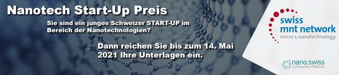 Nanotech Start-Up Preis Headerimage